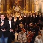 Akvarteto, sbory Patron a Gloria Cantate na koncertu