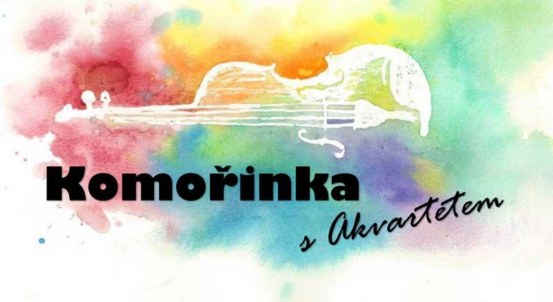 Komořinka s Akvartetem 2018, design by Viki