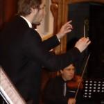 Ondřej Kunovský na koncertu Akvarteta