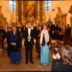 Sólisté Akvarteta na Benefičním koncertu Varhany pro Královo pole